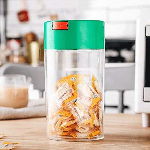 ZHAS Küche versiegelt Container Aufbewahrungsbox, Kunststoff Aufbewahrungsbox, Kaffeebohne Küche Feuchtigkeitsaufbewahrungsflasche, Haushalt Lebensmittel Aufbewahrungsbox/für den Haushaltsgebra