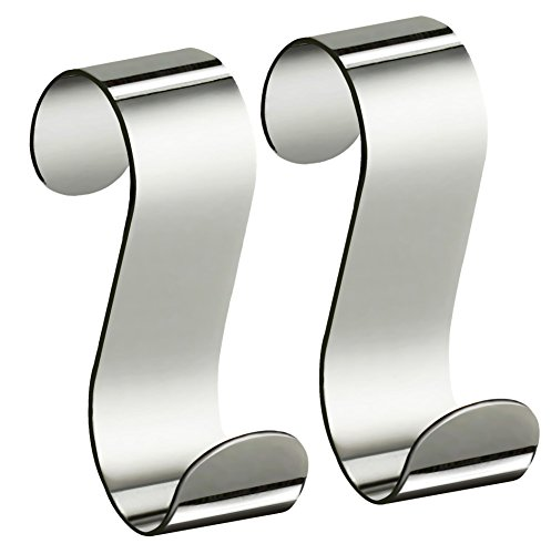 XXXL Handtuchhaken, Silber, 4x6,4x10 cm, Metall (Chrom-metall-hardware)