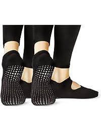 LA Active Calcetines Antideslizantes - Yoga Pilates Barre - Ballet