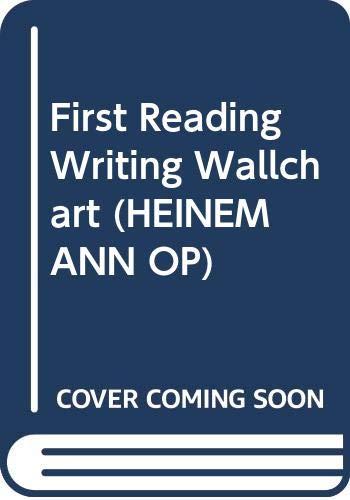First Reading Writing Wallchart: Wallcharts (HEINEMANN OP)