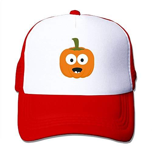 VANESSA Happy Halloween Pumpkin Classic Adjustable Mesh Trucker Hat Unisex Adult Baseball Cap