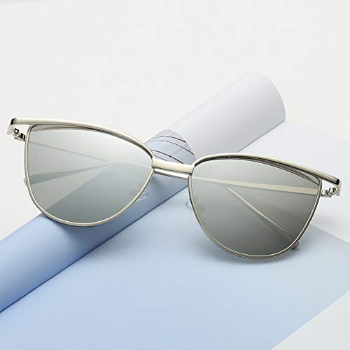 WZYMNTYJ Sonnenbrille Frauen Luxus Cat Eye Brand Design New Gold Vintage Cat Eye Mode Sonnenbrillen Dame Brillen