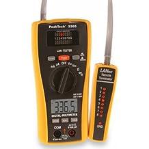 PeakTech 685010LAN de multímetro digital, tester con 3365