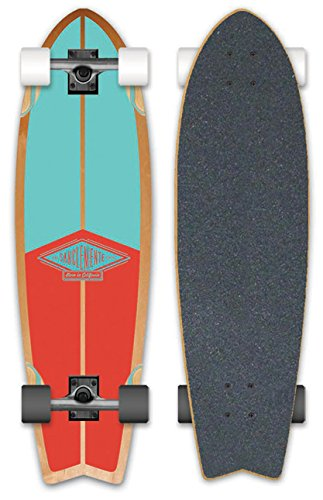 San Clemente Skateboard Kelsey Fishtail 31