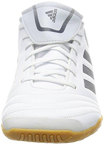 adidas Copa 74 in, Scarpe da Calcio Uomo Bianco (Footwear White/onix/clear Grey)