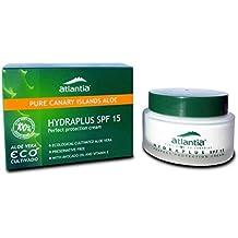 50 ml Crema Facial de Aloe Vera Hydraplus con Filtro SPF 15. Con Aceite de