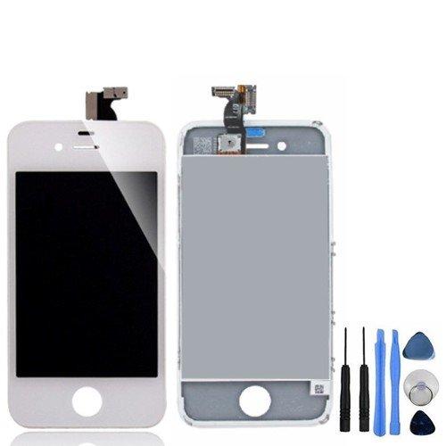 BisLinks® LCD Bildschirm und Display Digitizer Montage Ersatz für iPhone 4 Weiß (4. Ipod Touch-screen-ersatz)