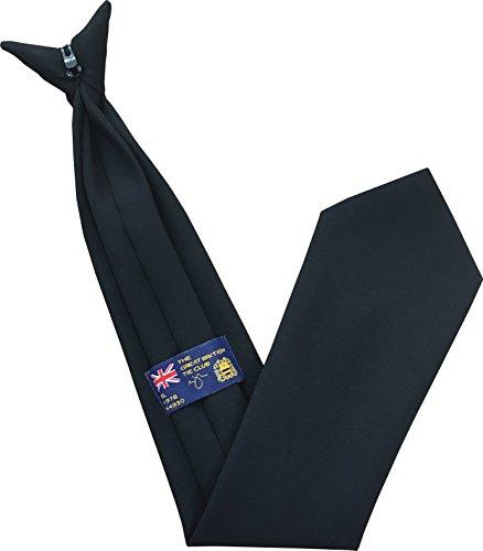 Plaine cravates des hommes (clip sur cravate) - différentes couleurs
