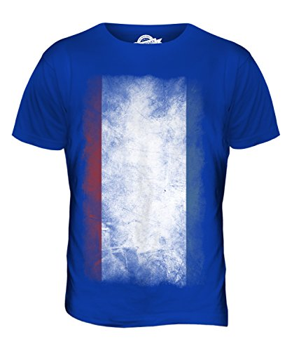 CandyMix Krim Verblichen Flagge Herren T Shirt Königsblau