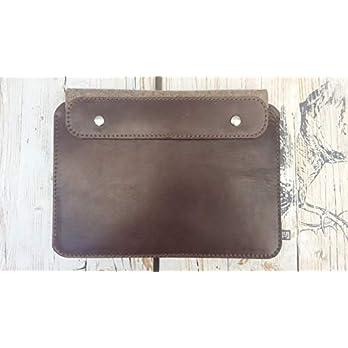 MacBook-Huelle/Schutzhuelle (Leder/Wollfilz) 13″ 16″ Vintage Leder Wollfilz Handgefertigt Super Schutz