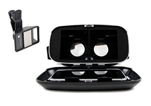 Virtual Reality VR-Brille und 3D Smartphone-Linse Objektiv für die besten Aufnahmen Videos in 3D. Für Samsung Galaxy J3 Pro | J3 Prime | J3 2017 | J7 2016 | J7 2017 | J7 Prime | J7 Max Smartphone