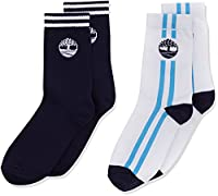 Timberland Boy's (2) Socks, Blue (Navy Blue), 6 Years (Manufacturer Size:29)