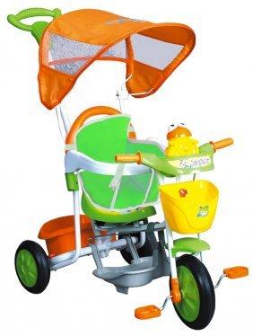 schiano 842 triciclo sweet baby arancio