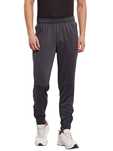 PERF Men Steel Grey Regular Fit Precision Run Track Track Pant