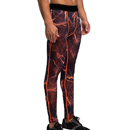 Männer Kompressionshose Fahrradhose Base Layer Herren Hose Sport Lauf Outdoor Gym Leggins Thermounterwäsche Lang Tights Pants...