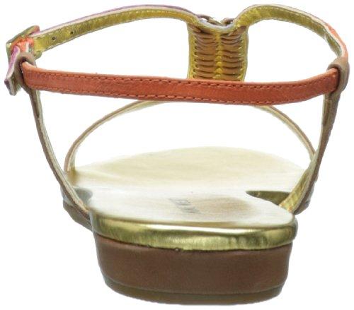 Nine West Tikihut Sandalo Natural Multi Leather