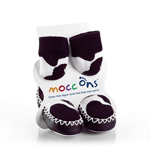 Mocc Ons Baby - Mädchen Socken, Gr. 80 (Herstellergröße: 80), Schwarz
