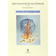 Egile Berrientzako Literatur Lehiaketak 1999 Saritutako Lanak