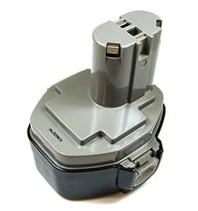 Mertrado - (Ni-MH) Batterie pour Makita Perceuse visseuse Typ 1433 / 193159-1 (14,4V) - 3000 mAh