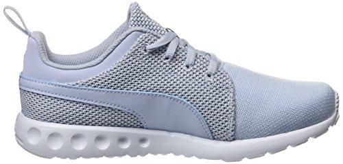 Puma Unisex-Erwachsene Carson Runner Knit Eea Laufschuhe Blau (halogen blue-lavendar lustre-puma white 07)