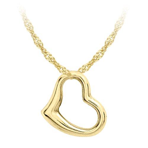 Carissima Gold Collana con Pendente da Donna in Or...