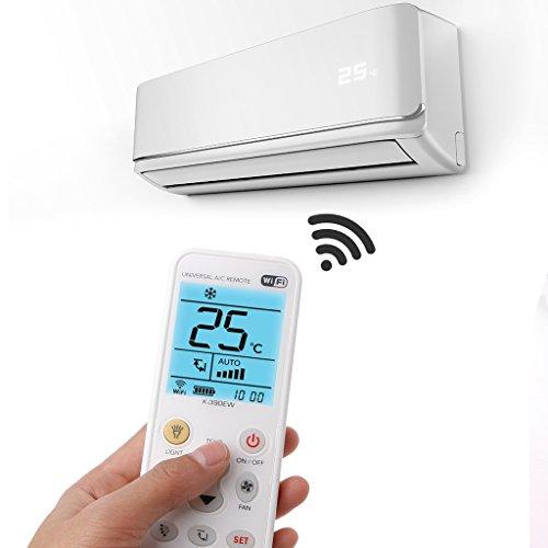 Xuniu K-390EW WiFi Smart LCD Universal, Aire Acondicionado, Control Remoto y Aire Acondicionado