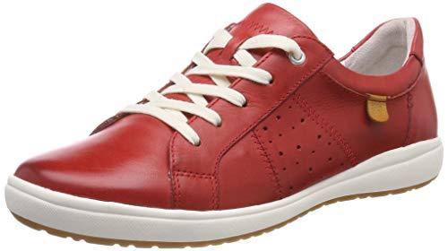 Josef Seibel Damen Caren 01 Sneaker, Rot (Rot 400), 40 EU -
