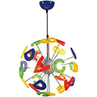 Naeve 773061 - Lámpara de techo infantil con el alfabeto (120 x 40 cm)
