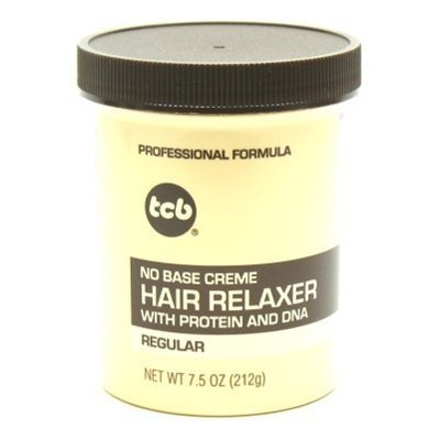 TCB No Base Hair Relaxer Creme, Regular, 7.5 Ounce by Tcb - Creme Hair Relaxer