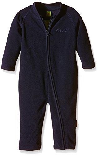 CeLaVi Fleece Suit-Solid, Body Bébé Garçon, Bleu Marine, 6-9 Mois (Taille Fabricant:68)