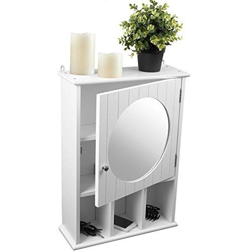 #Spiegelschrank 56x40x15cm Hängeschrank Wandschrank für Bad und Flur#