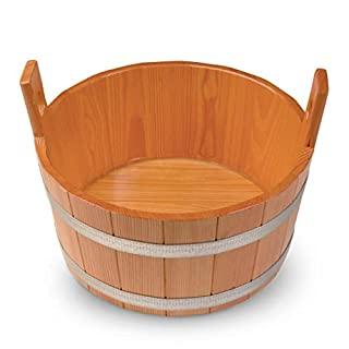 Arend Fussbadekübel Lärche 18 Liter