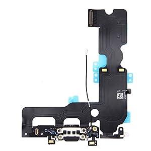 Dock Flex Connector Mikrofon Mic Flexkabel für Apple iPhone 7 Plus Ladebuchse Schwarz Ersatzteil
