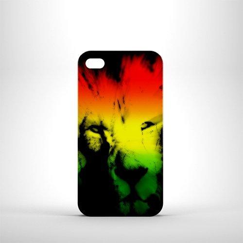 Trojan Rasta Lion Étui pour téléphone iPhone 4/4S