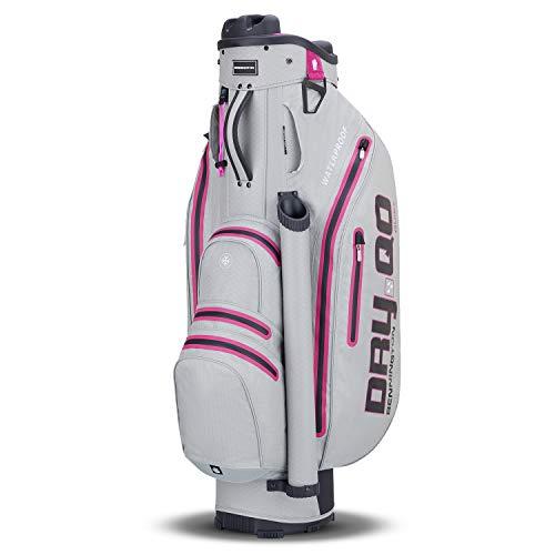 Bennington Dry QO Golf Cartbag Wasserdicht (Grey/Pink)