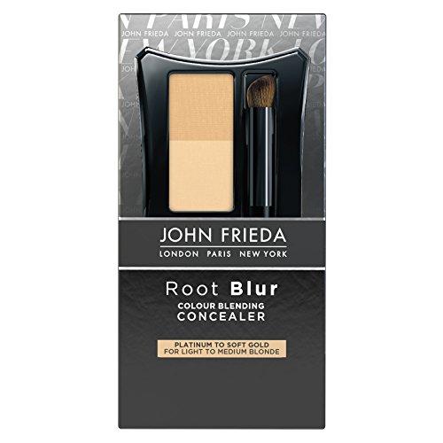 John Frieda Root Blur Colour Blending Concealer, Platinum to Soft Gold