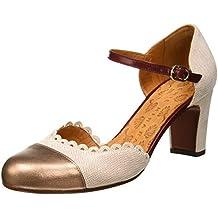 Chie Mihara Margot, Zapatos con Tacon y Correa de Tobillo para Mujer