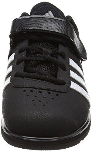 adidas Powerlift2 Unisex-Erwachsene Hallenschuhe Black (Core Black/White/Night Metal)