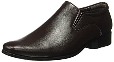 BATA Men's Alfred Dark Brown Formal Shoes-7 UK/India (41 EU) (8514105)
