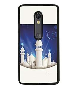 printtech Chand Allah Back Case Cover for Motorola Moto G3 , Motorola Moto G (3rd Gen)