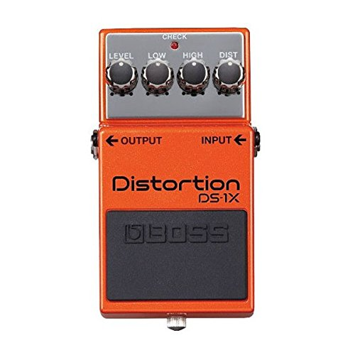 BOSS DS-1X DISTORTION - Pedal de efectos overdrive y distorsi?n