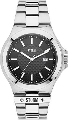Storm London TYRON 47266/BK Reloj de Pulsera para hombres Momento Estelar de Diseño