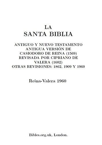 Descargas de libros electrónicos para ipad Sagrada Biblia Reina Valera RTF