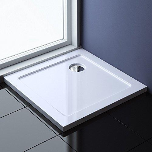 100x100x4 cm Design Duschtasse Faro1 in Weiß, Duschwanne, Acrylwanne