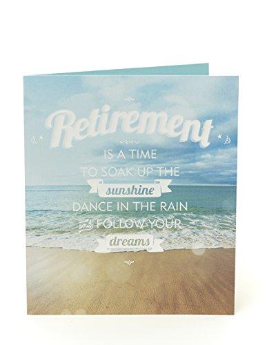 Congtratulaciones en su tarjeta de jubilación