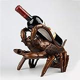 WENYC Europäischen Hummer Weinregal Harz Handwerk Ornamente Kreative Einrichtungsgegenstände Wohnzimmer Tisch Wein Schränke