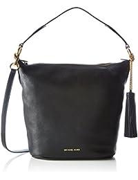 Michael Kors Women's Large Elana Convertible Leather Shoulder Bag Tote