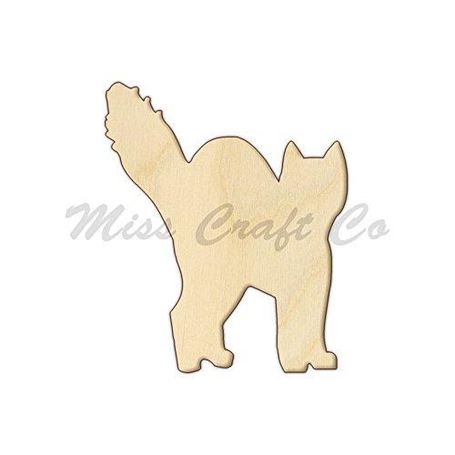 Form Ausschnitt, Holz Craft Form, unlackiert Holz, DIY Projekt. Alle Größen erhältlich, kleine bis Big. Hergestellt in den USA. 12 x 10 Inches ()
