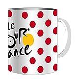 Kaffeebecher gepunktet–Le Tour de France Radfahren–offizielle Kollektion