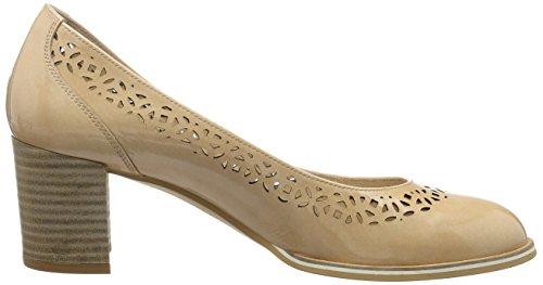 Hispanitas - Irina-5, Scarpe col tacco Donna Beige (KAFFIR-V7 ECRU)